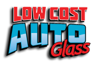 low cost auto glass logo